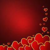 Valentine background. Valentine's day background useful as postcard or greeting card Stock Photos