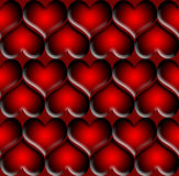 Valentine Background. Red Heart Valentine Background Royalty Free Stock Image