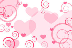 Valentine background stock photography