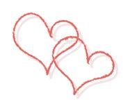 Valentine background vector illustration
