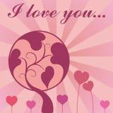 Valentine Background. A love background design for valentine's day Stock Photos