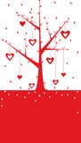 Valentine background. Vector valentine background with heart Royalty Free Stock Images
