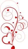 Valentine background royalty free illustration