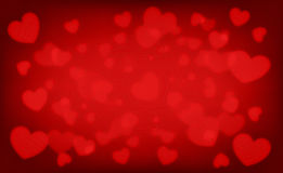 Valentine background, Blur and Select focus Stock Photo