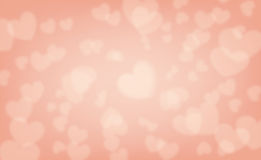 Valentine background, Blur and Select focus Stock Images