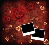 Valentine background card Stock Photography