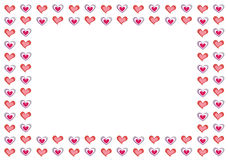 Valentine Background with copy-space Royalty Free Stock Image