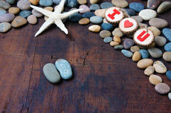 Valentine background, Feb 14, i love you Stock Images