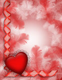 Valentine background heart Royalty Free Stock Images
