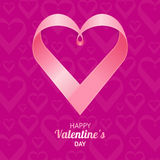 Valentine Background Heart. Vector Stock Photography