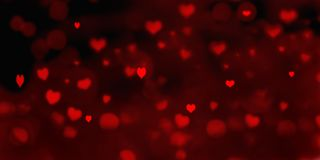 Heart shaped in valentine background stock photos