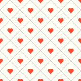 Valentine background with hearts. Valentine background with hearts and squares royalty free illustration