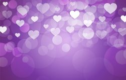 Valentine background with hearts. Vector vector illustration
