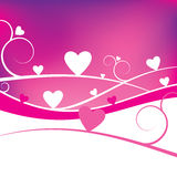 Valentine Background. A background ideal for Valentine's Day Royalty Free Stock Photo
