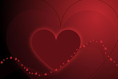 Valentine background - vector Royalty Free Stock Photo