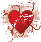 Valentine background, vector Stock Photo