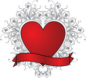 Valentine background, vector Royalty Free Stock Photos