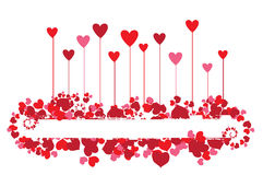Valentine background for your design Stock Photography