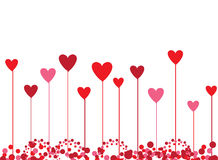 Valentine background for your design Stock Photo
