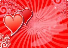 Valentine background1 Stock Photos