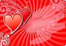 Valentine background1 Photos stock