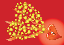 Valentine Background2 Royalty Free Stock Images