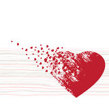 Valentine backgrounds Stock Images