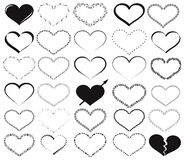 Valentine Backgrounds elements Royalty Free Stock Photos