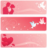 Valentine Banner Stock Photos