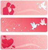 Valentine Banner Stock Photos