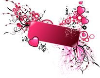 Valentine banner Royalty Free Stock Photos