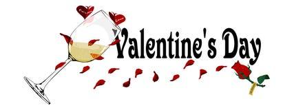 Valentine Banner Photographie stock
