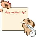 Valentine  banner Stock Photo