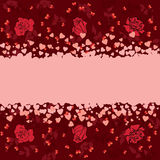 Valentine banner Royalty Free Stock Photography