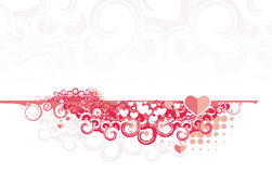 Valentine banners Royalty Free Stock Image