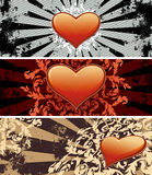 Valentine banners Stock Images