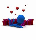 Valentine Be mine Royalty Free Stock Photos