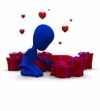 Valentine Be mine Stock Photos