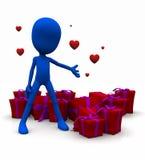 Valentine Be mine Stock Photo