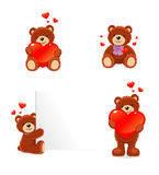Valentine bear Royalty Free Stock Images