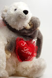 Valentine Bear Hug Stock Photo
