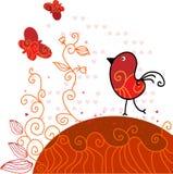 Valentine bird Stock Photos