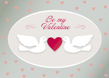 Valentine birds Royalty Free Stock Photo