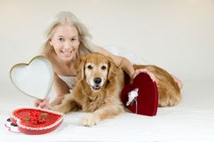 Valentine Blank Royalty Free Stock Photo