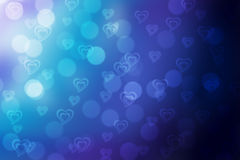 Valentine bokeh background stock images