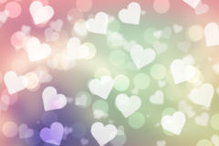 Valentine bokeh background royalty free stock photography