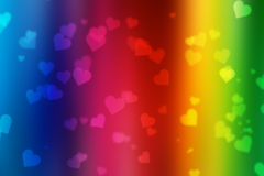 Valentine bokeh background stock photography