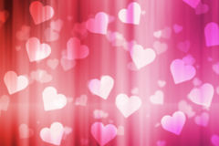 Valentine bokeh background royalty free stock images
