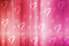 Valentine bokeh background royalty free stock photography