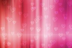 Valentine bokeh background royalty free stock photo